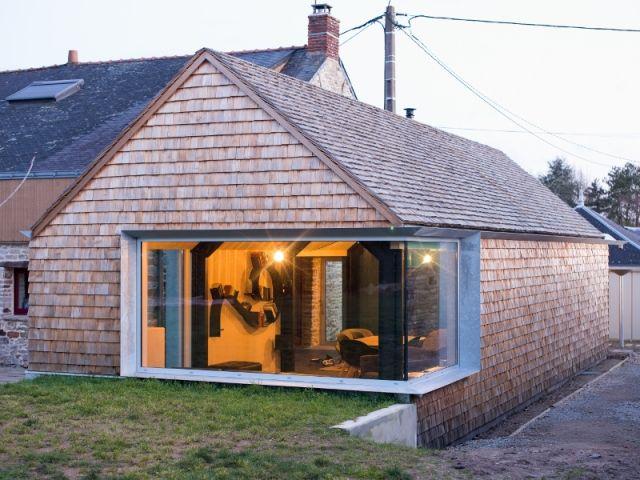 En Loire Atlantique, Une Maison Du Début Du XXème Siècle, A été Enrichie