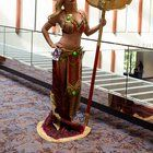 [SELF] Blood Elf Preist with re-made Golden Staff of the Sin'dorei from Dragon Con 2016 _