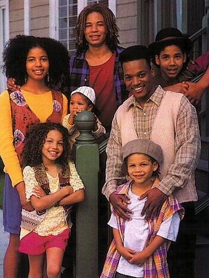Smollett family from television show On Our Own.  The youngest daughter, Jurnee went on to star in Eve's Bayou, RollBounce, Family Matters and the family itself was featured in Lenny Kravitz LetLoveRule video.