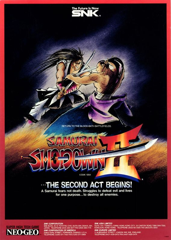 Neo Geo Games | ... Shodown II SNK NEO GEO online | Play retro games online at Game Oldies