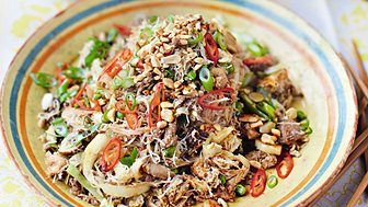 BBC Radio 4 - Woman's Hour, Jamie Oliver; The sandwich generation of carers - Singapore Noodles