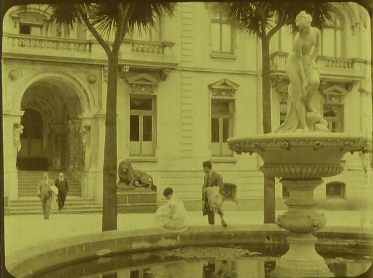 Enterreno - Fotos históricas de chile - fotos antiguas de Chile - Palacio Cousiño-Goyenechea de Lota en 1925