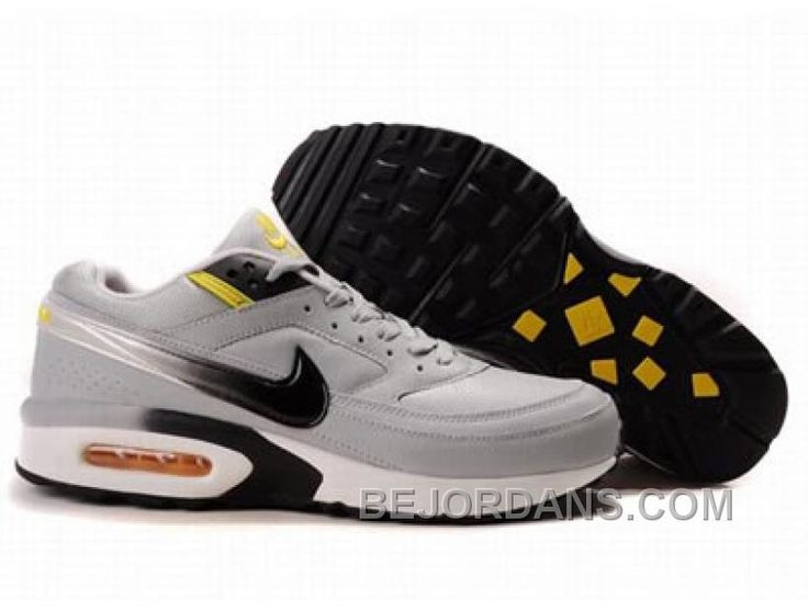mens nike air max bw black yellow