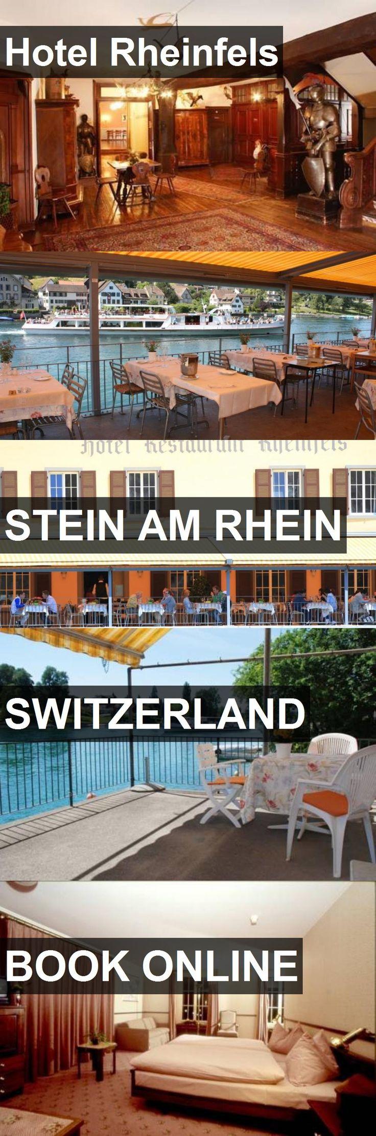 Hotel Rheinfels in Stein am Rhein, Switzerland. For more information, photos, reviews and best prices please follow the link. #Switzerland #SteinamRhein #travel #vacation #hotel