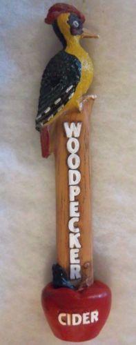 WOODPECKER-CIDER-BEER-TAP-HANDLE