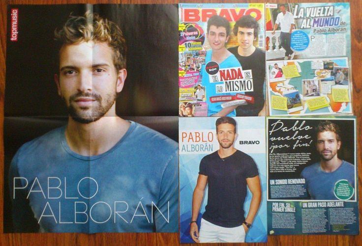 PABLO ALBORAN (Alborán) Posters Clippings | eBay