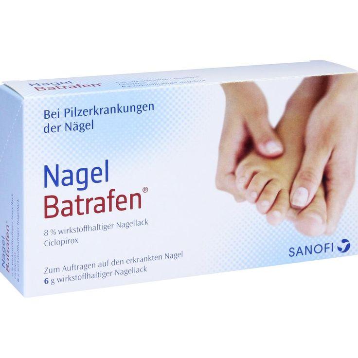 NAGEL BATRAFEN Lösung gegen Nagelpilz:   Packungsinhalt: 6 g Lösung PZN: 04512286 Hersteller: Sanofi-Aventis Deutschland GmbH Preis:…