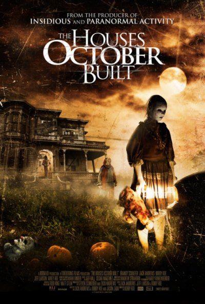 Perili Evler - The Houses October Built - 2014 - WEBRip Film Afis Movie Poster