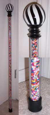 The finished Wonka walking stick! I want to make one :)