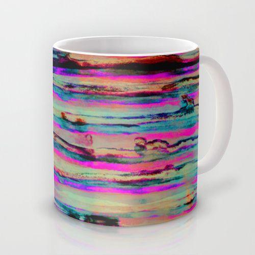 Neon Stripes Mug by Georgiana Paraschiv | Society6