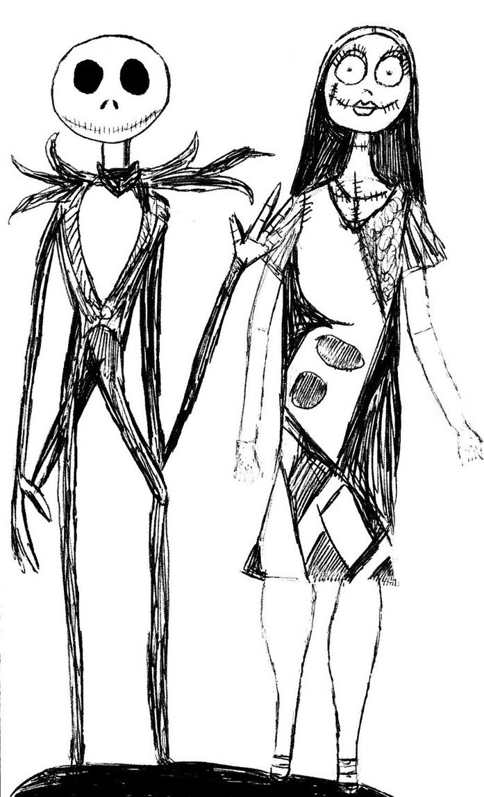 1000+ images about Sally and Jack Skellington on Pinterest ...