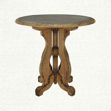 High Quality Cambrey Round End Table | Arhaus Furniture
