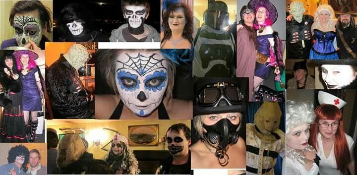 Halloween over the years