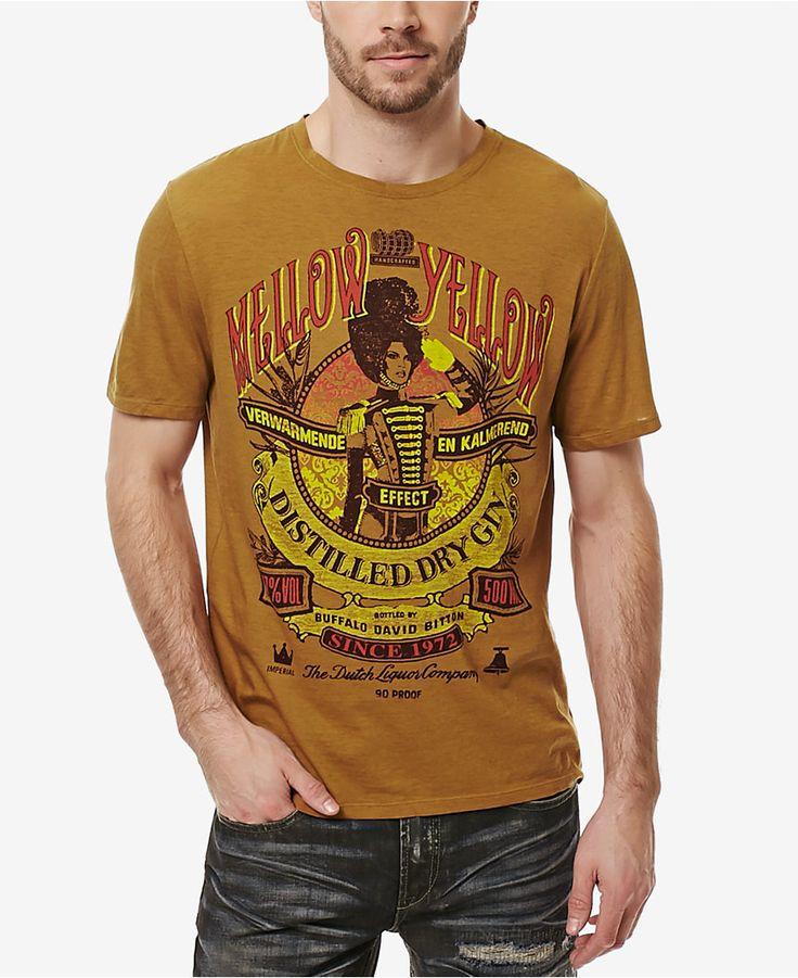 Buffalo David Bitton Men's Graphic-Print T-Shirt - T-Shirts - Men - Macy's