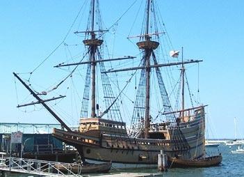 Mayflower II - Plymouth Rock, MA
