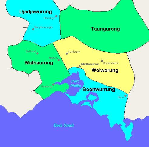 Kulin Nation: An alliance of five Indigenous Australian nations in Central Victoria, Australia, prior to European settlement.