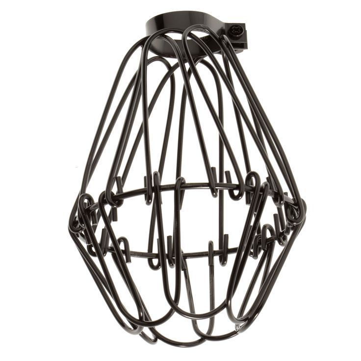 Industrial Wire Cage - Graphite from Color Cord Company