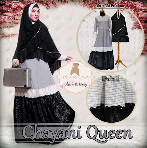 Gamis Syar'i Modern CHAYANI QUEEN - http://warongmuslim.com/gamis-syari/gamis-syari-modern-chayani-queen/