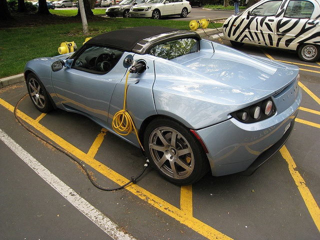 My other car is a Tesla Electric car