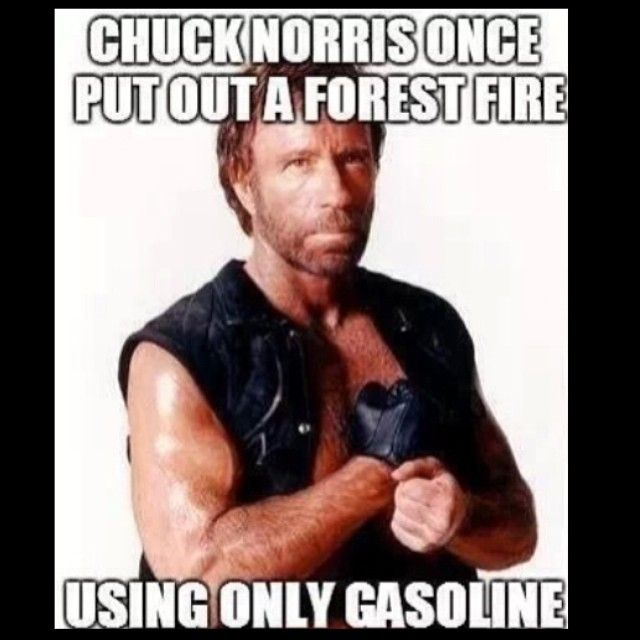Chuck Norris facts   chucknorrisdid's photo on Instagram
