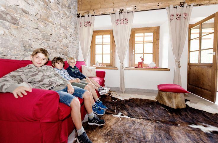 Salotto con divano letto - Ciase Baufie