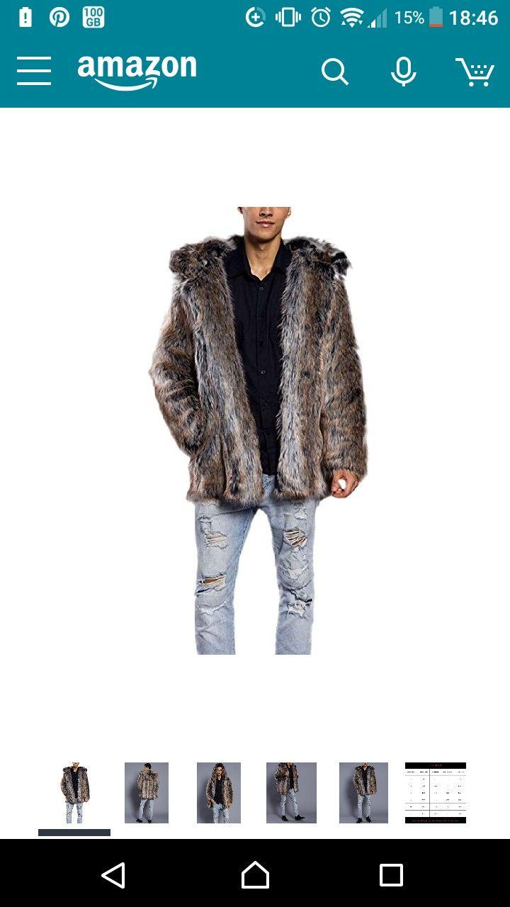 Best 25 Men S Fur Amp Faux Fur Coats Ideas On Pinterest