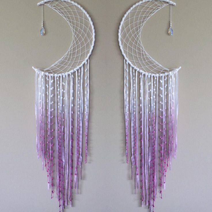 Half Moon Dreamcatcher Choose Your Size and Colour