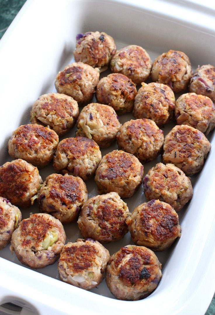 Slow Cooker Cabbage Roll Meatballs are an easy, delicious weeknight diner!