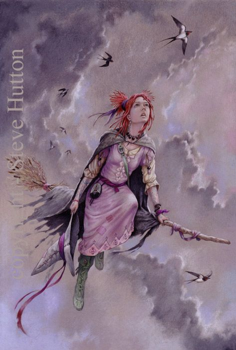 Ruthie Comfort - Wildwood Witches -Art by Steve Hutton