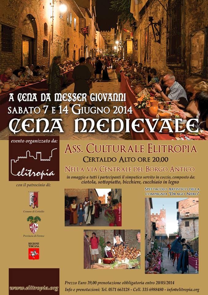 MedioEvo Weblog: Cena Medievale a Certaldo