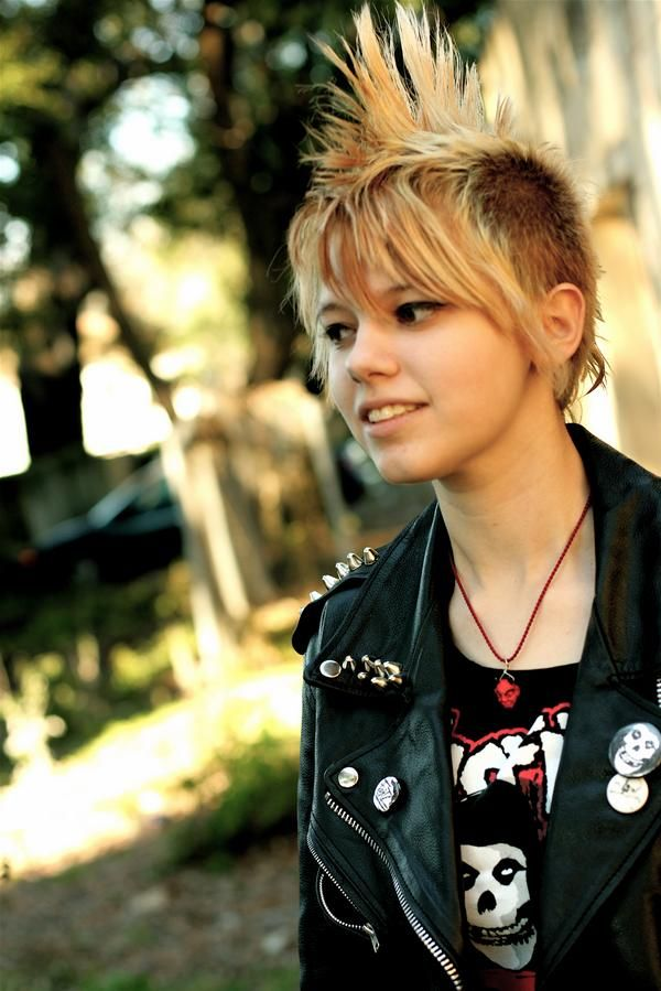 punk style-she's really pretty
