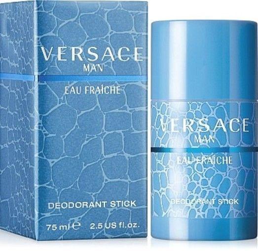 221df089f27 39.87 | SEALED BOX Versace Man Eau Fraiche 2.5 oz Deodorant Stick For Men  Brand