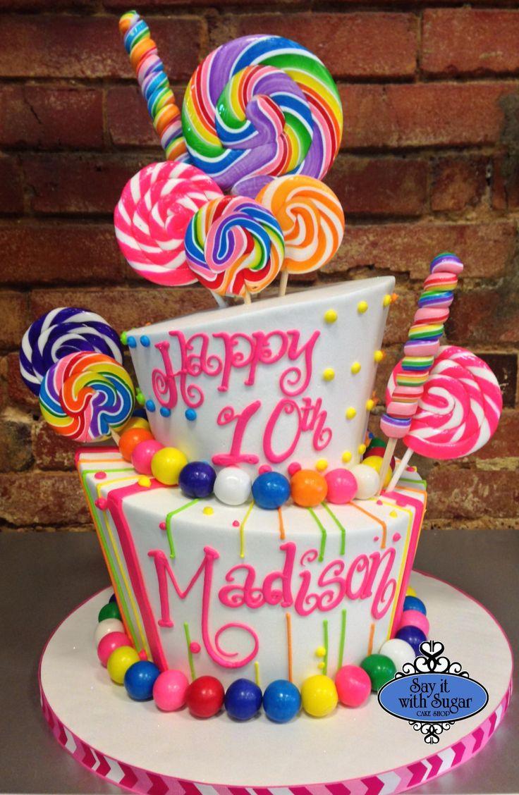Pin by Nicole Lara on Sams 11th Candy birthday cakes