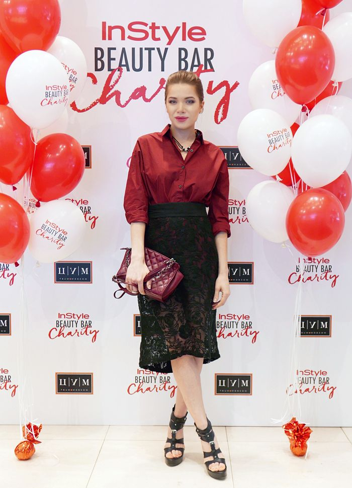 InStyle Beauty Bar Charity в ЦУМе