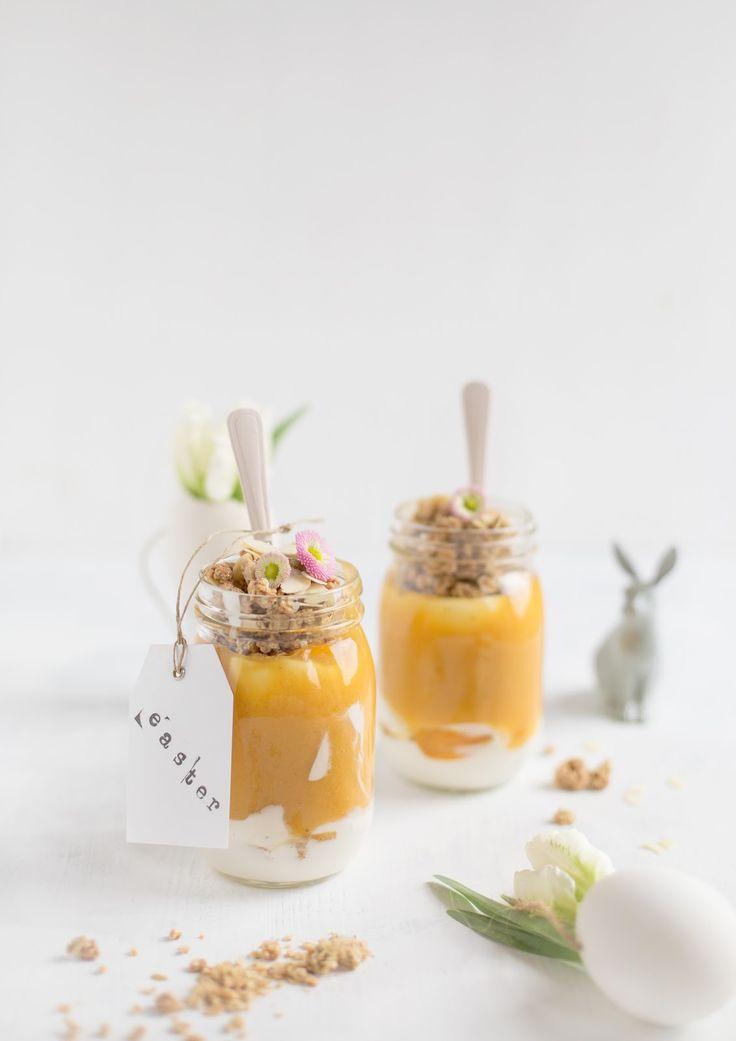 Oster Frühstücks Idee im Glas / detail lovin'
