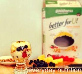 Breakfast parfait   Goodness Superfoods