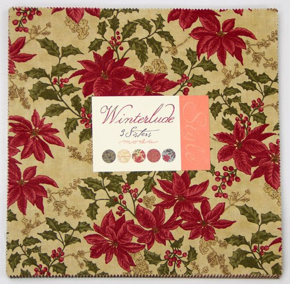 WINTERLUDE Layer Cake by 3 Sisters from Moda 10-Inch by Jambearies