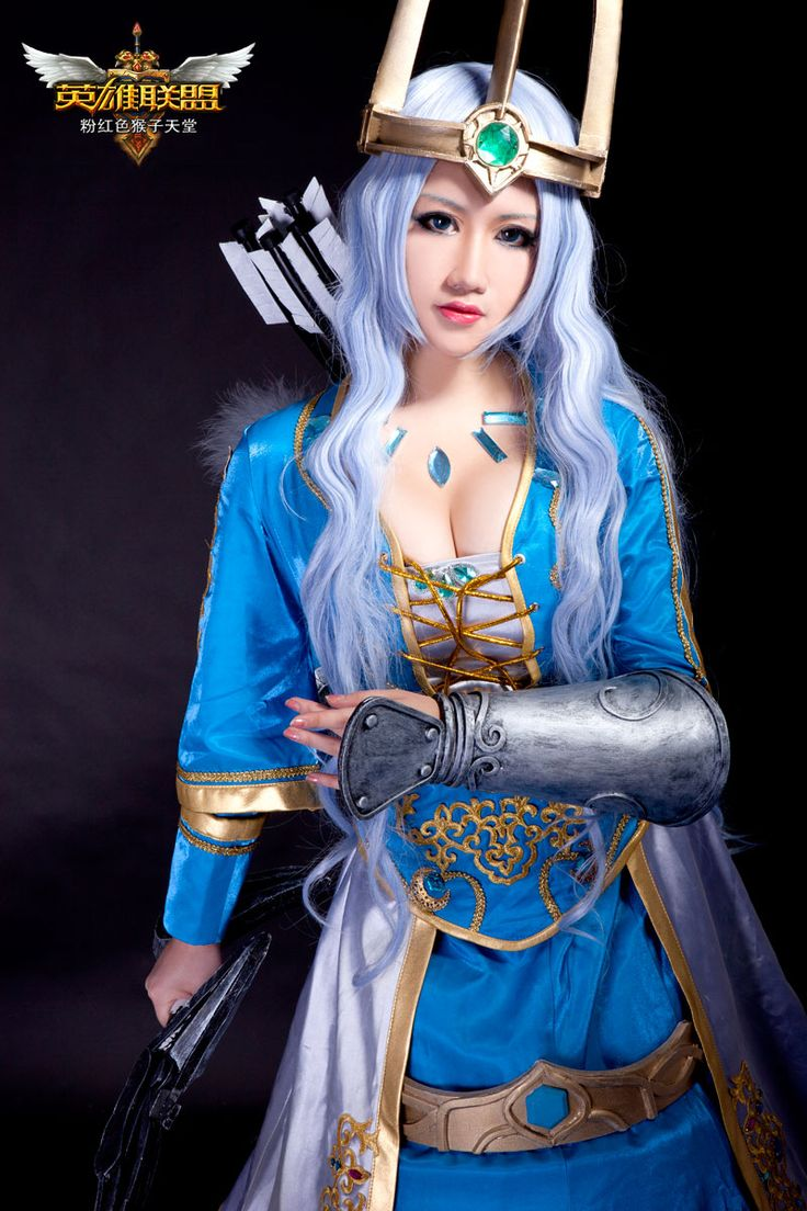 Queen Ashe from League Of Legend check out our website ...