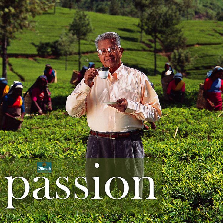 Merrill J. Fernando, the founder of Dilmah Tea, Sri Lanka.
