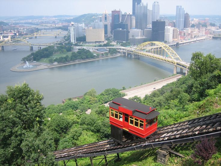 The Duquesne Incline, Pittsburgh PA  The only thing I love to do when I visit PA.