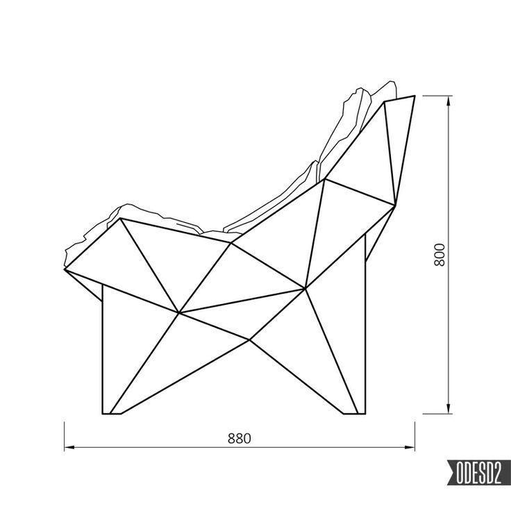Q1 lounge chair by ODESD2 design bureau