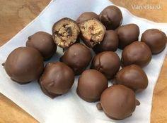 Nepečené cookies v čokoláde (fotorecept)