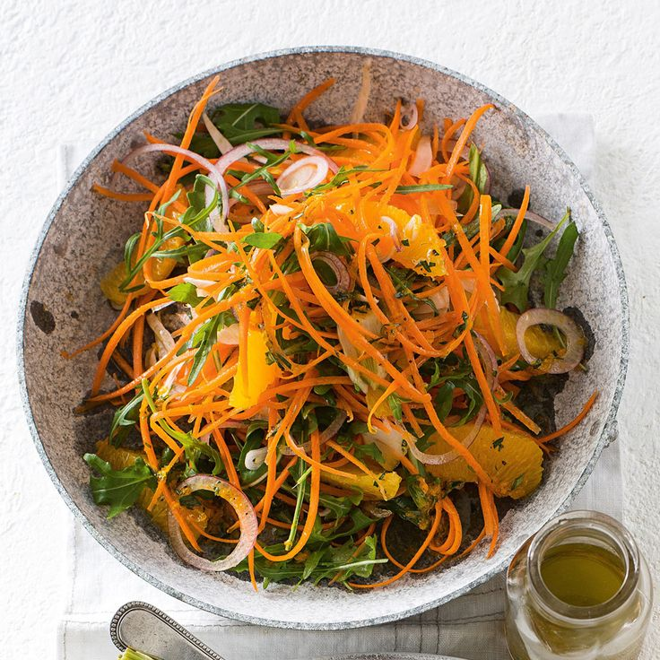 Turn your meal into one to remember with the Carrot, Orange & Fennel Salad.
