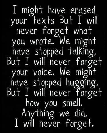 Never will forget. Please make me forget... I don't want to but I know I have to..... I loved you and you hurt me. You are still hurting me Avery Hall