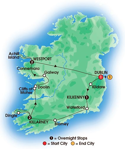 Irish Pubs & Folklore 8 Day Tour - My Ireland group just did this tour! Highly recommend!