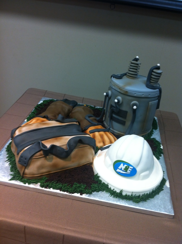 power lineman wedding cake topper power company cake lineman cakes 18705