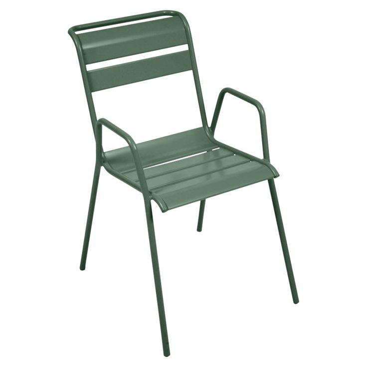 Monceau armchair, outdoor furniture of steel
