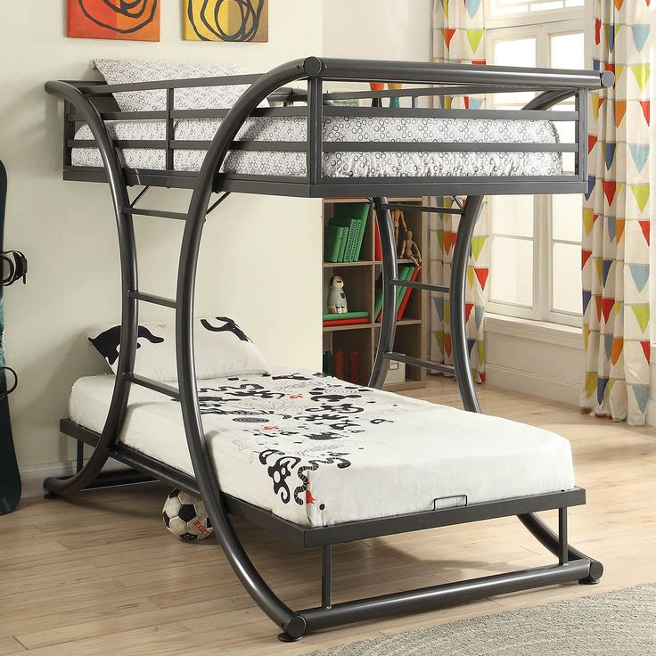 Details about Modern Youth & Adult Heavy Duty Metal Bunk