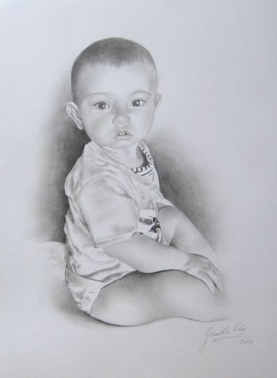 Personalized portrait. Original Christmas gift. by EwaGawlik