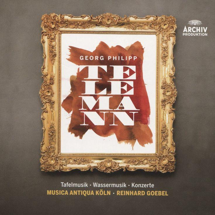 Goebel & Musica Antiqua Koln - Telemann: Tafelmusik / Wassermusik / Konzerte (CD)